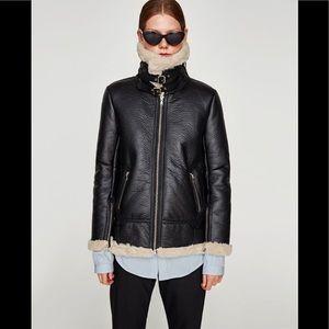 Zara - aviator jacket